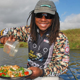 First five-star chef turned pro angler to compete on the hit show Food Network Chopped